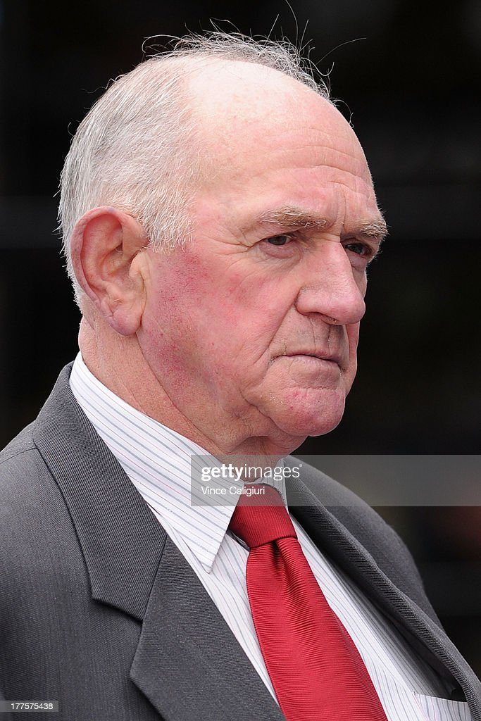 Trainer Leon Corstens during Melbourne Racing at Moonee Valley Racecourse on August 24, 2013 in Melbourne, Australia.