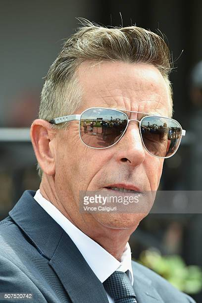Trainer Michael Kent during Melbourne Racing at Flemington Racecourse on January 30 2016 in Melbourne Australia