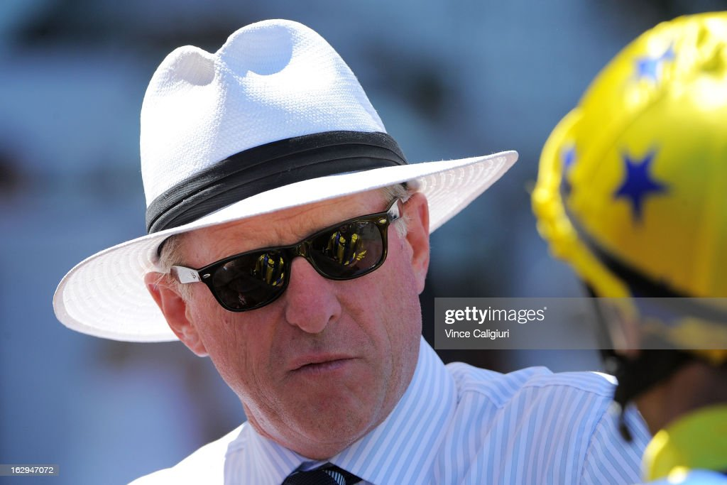 Trainer Mick Price during Melbourne Racing at Flemington Racecourse on March 2, 2013 in Melbourne, Australia.