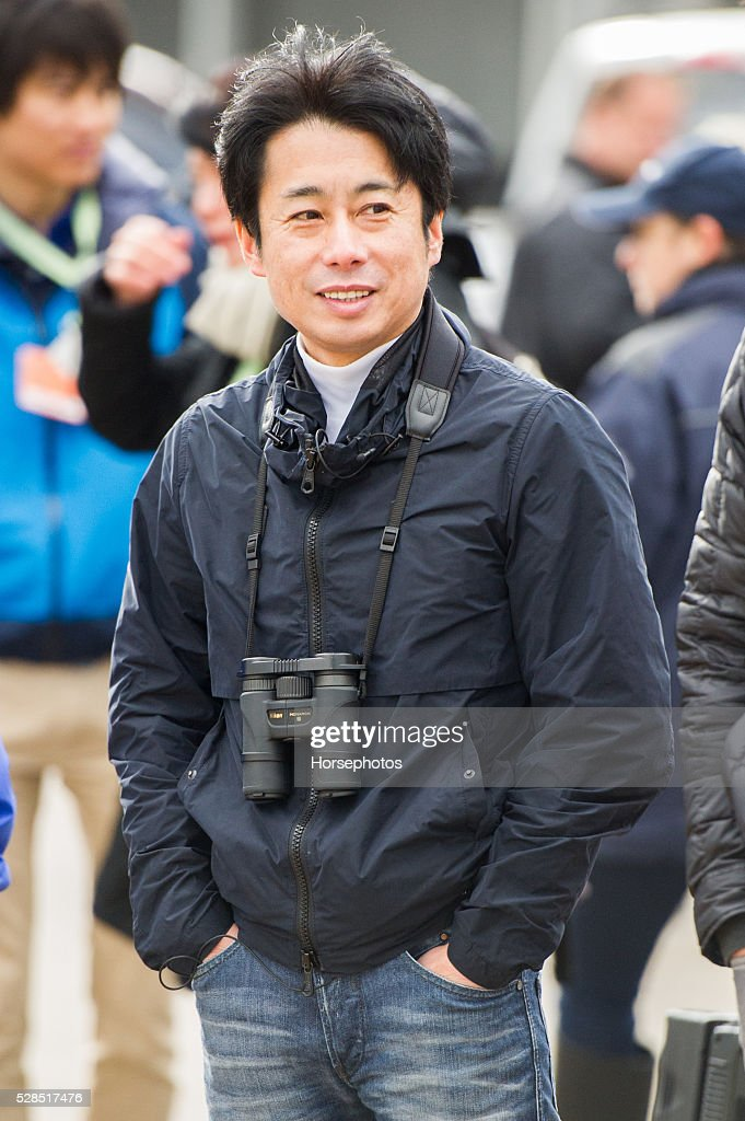 Trainer Mikio Matsunago at Churchill Downs Race Track on May 5, 2016 at Churchill Downs, Louisville