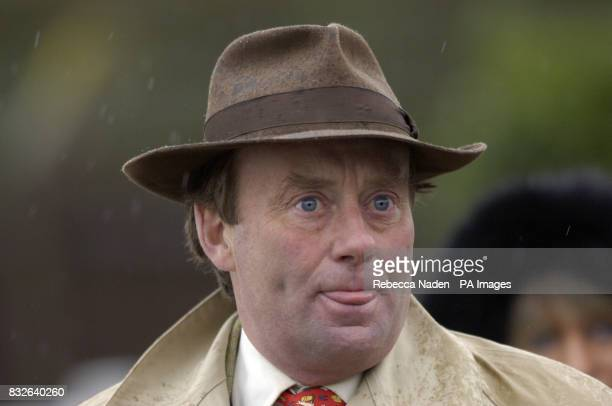 Trainer Nicky Henderson at Plumpton Races