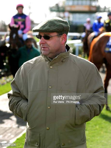 Trainer Richard Fahey at Doncaster Racecourse Doncaster
