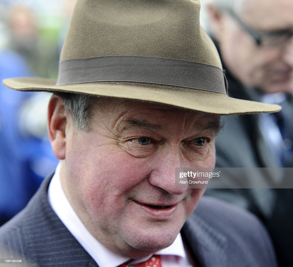 Trainer Richard Lee at Chepstow racecourse on December 27, 2011 in Chepstow, Wales.