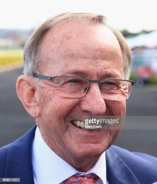 Trainer Ron Quinton after winning race 8 with Dixie Blossoms during Sydney Racing at Royal Randwick Racecourse on October 7 2017 in Sydney Australia