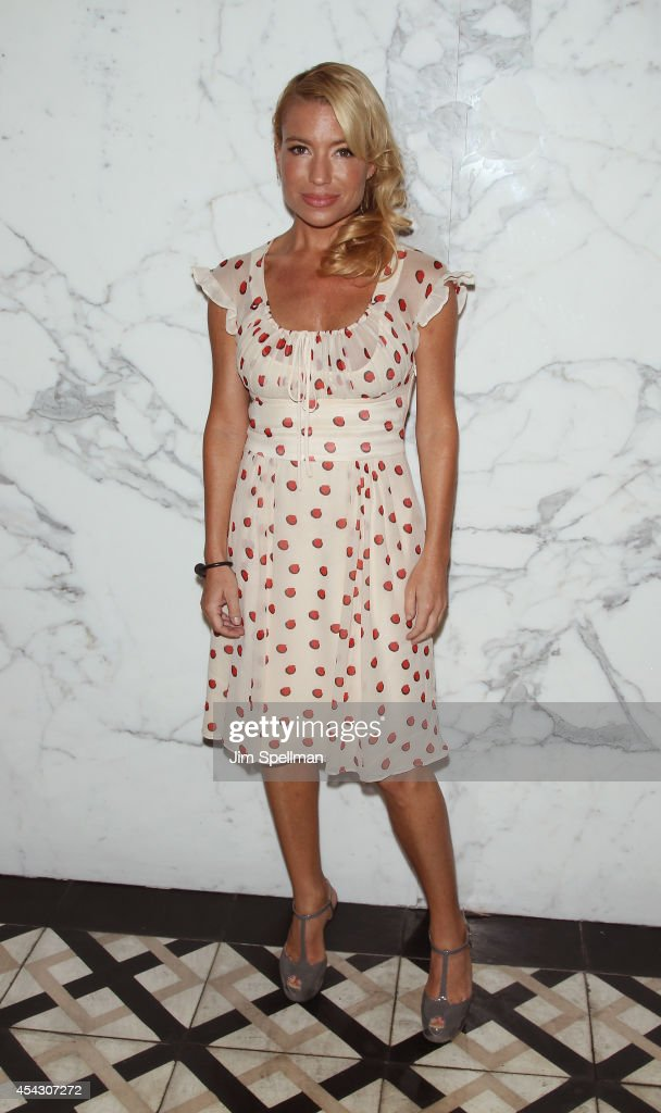 Trainer Tracy Anderson attends Resident Magazine's August 2014 Cover Celebration at Villagio on the Park on August 28 2014 in New York City