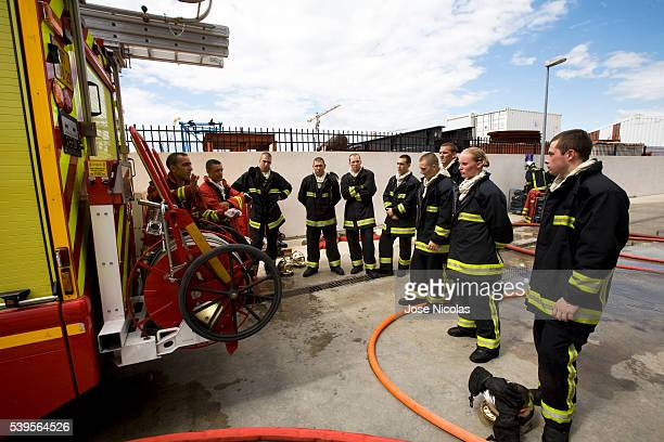 Training Centre for firefighters in Marseille