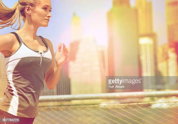 Training hard for that city marathon