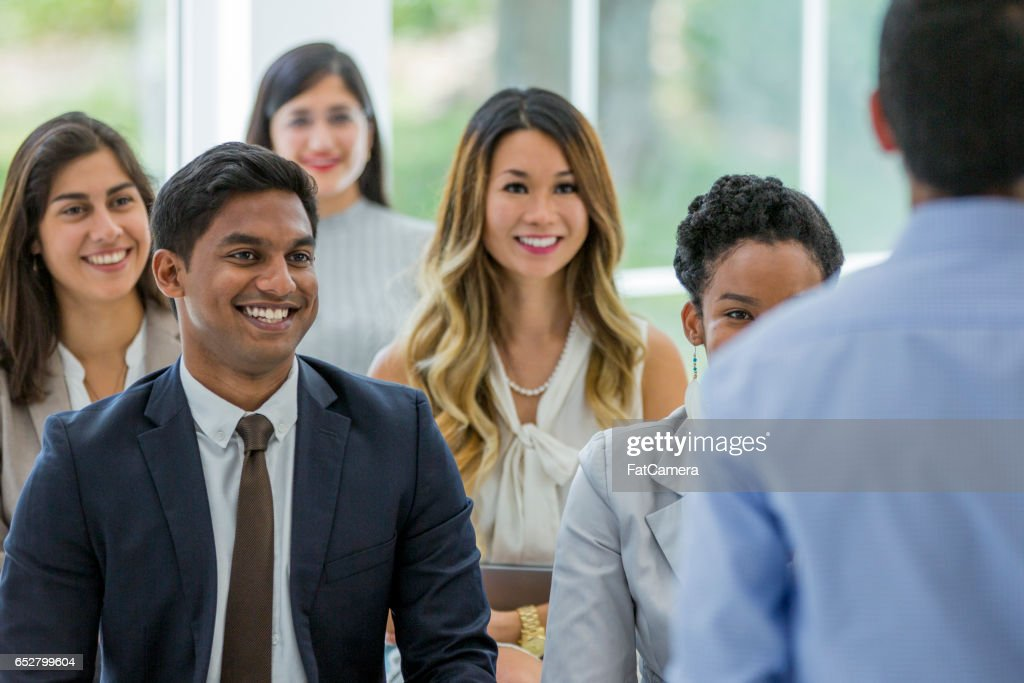 Training New Employees : Stock-Foto