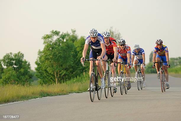 Training of male Dutch cyclists