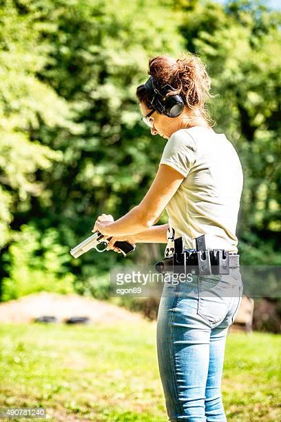 Training von shooting