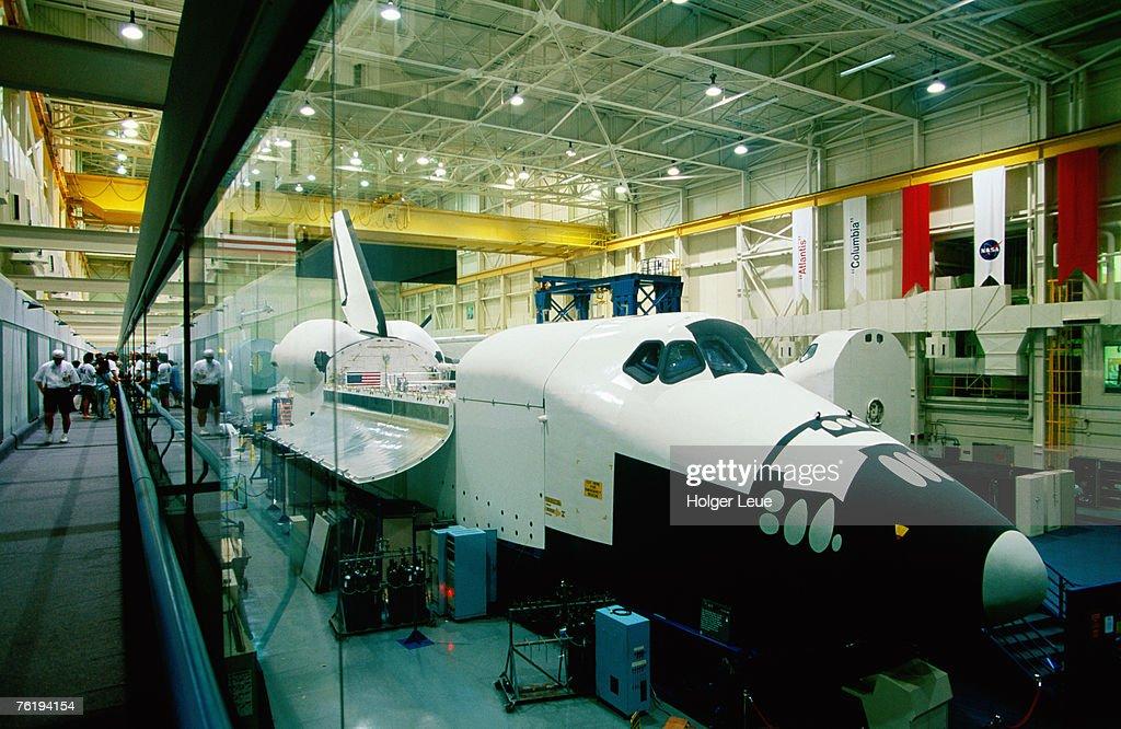 Training space shuttle, International Space Station Program, Johnson Space Center, Houston, Texas, United States of America, North America