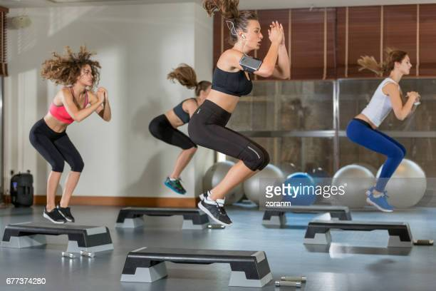 Training step aerobic