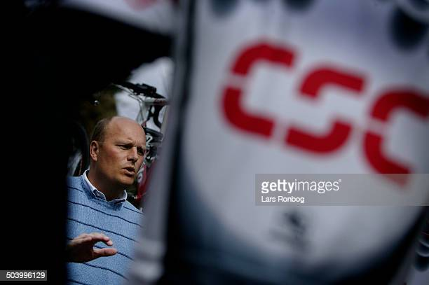 Trainingcamp Team CSC Lucca Italy Team CSC training manager Bjarne Riis