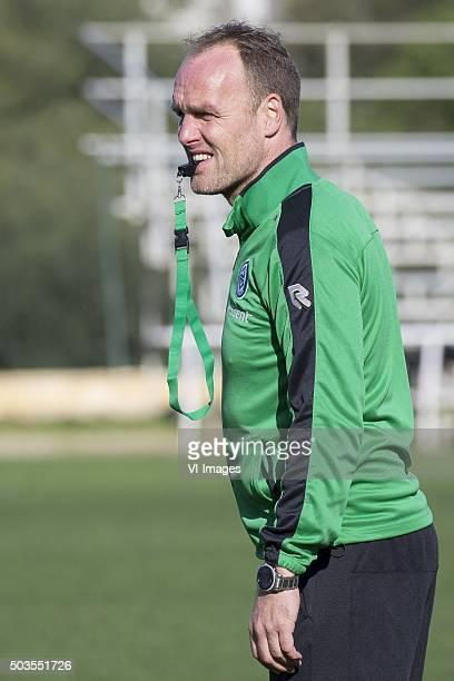 Trainingskamp FC Groningen Spanje assistenttrainer Dick Lukkien of FC Groningen during the training camp of FC Groningen on January 5 2016 at Costa...
