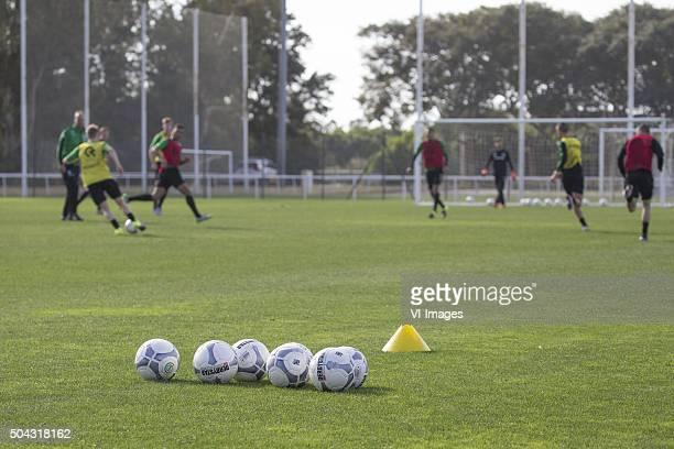 Trainingskamp FC Groningen Spanje Laatste training ballen during the training camp of FC Groningen on January 10 2016 at Costa Ballena Spain