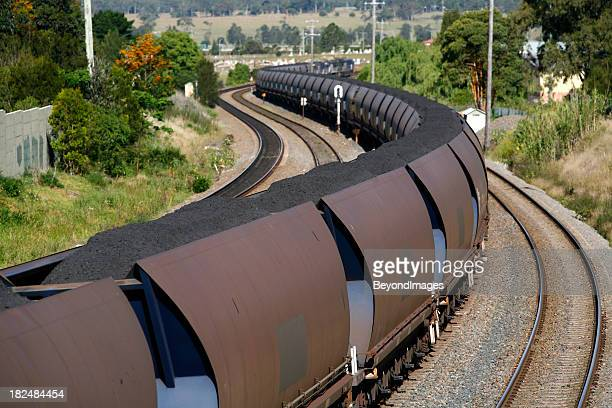 Trainload of coal heads to port