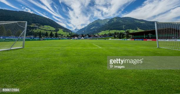 Trainngs place are seen during the Training Camp of FC Schalke 04 on July 29 2017 in Mittersill Austria