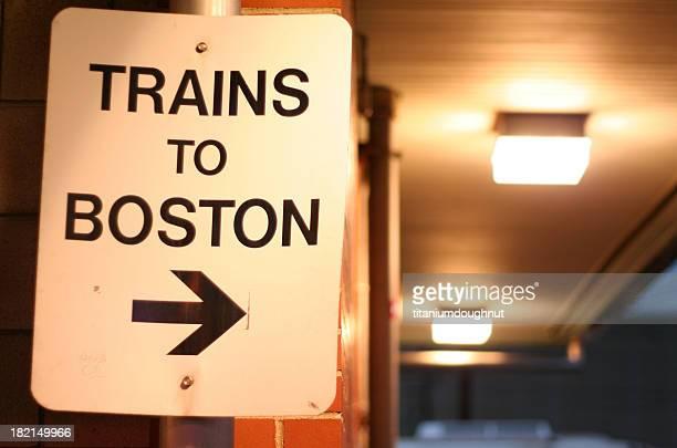 Trains to Boston