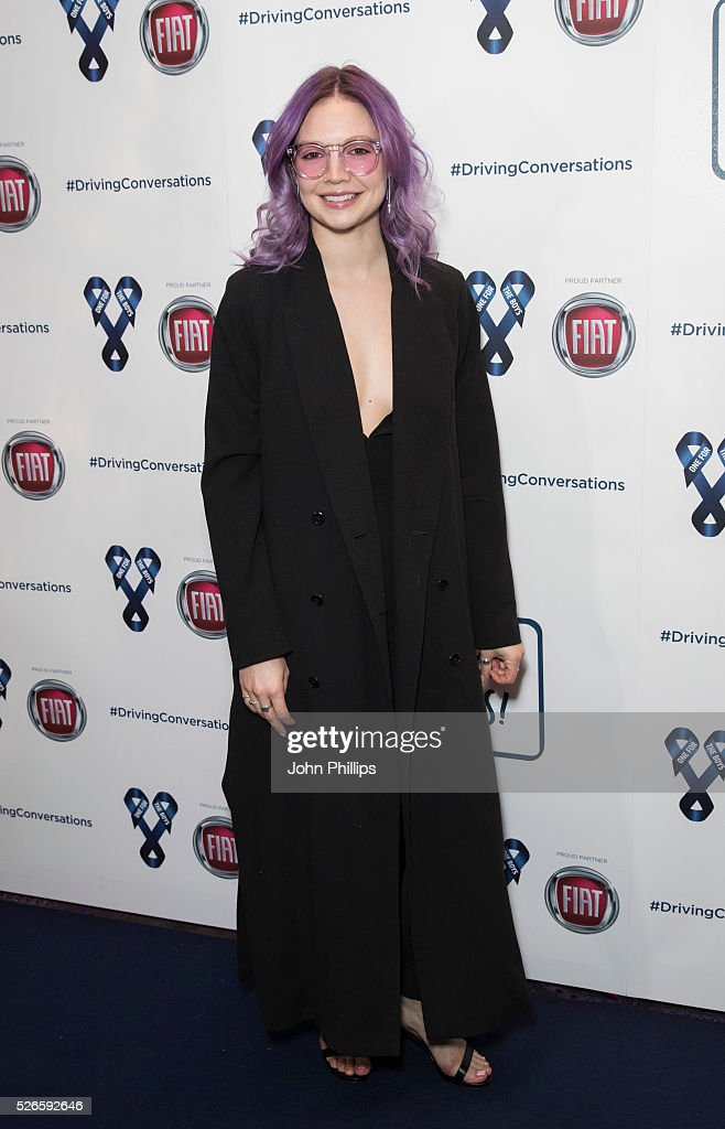B Traits arrives at the One For The Boys Charity Event Masquerave sponsored by FIAT at the Troxy on April 30, 2016 in London, England.