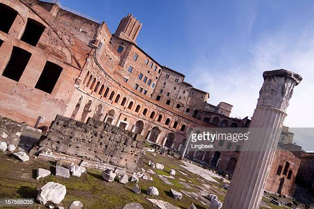 Trajan's Forum in Ancient Rome, Italy