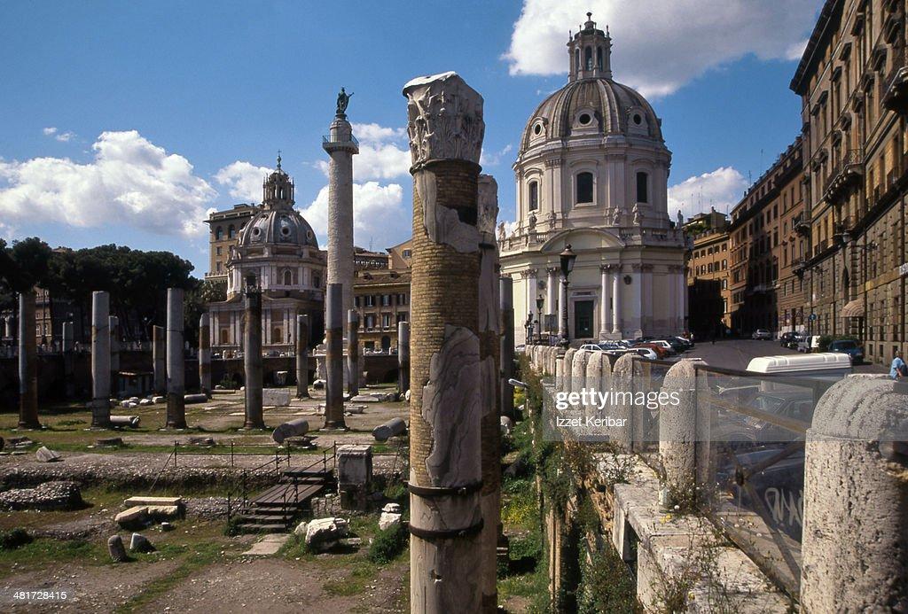 Trajan's Forum, Rome, Italy