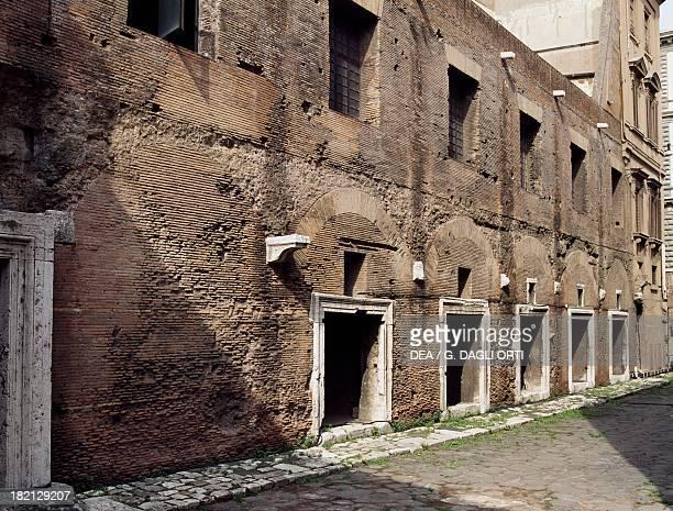 Trajan's Market architect Apollodorus of Damascus Imperial Fora Rome Italy Roman Civilisation 2nd century
