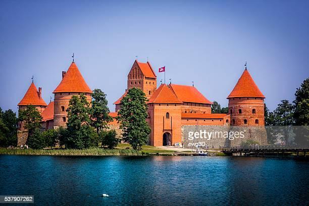 Insel Trakai Burg, Litauen
