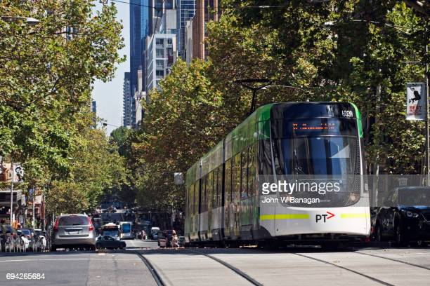 Tram, Collins Street, Melbourne