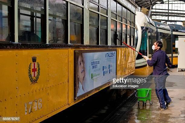 Tram Shed Atm Milan Italy