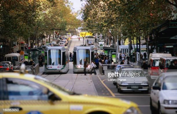 Tram superstop.