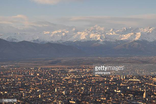Tramonto a Torino - Turin sunset.