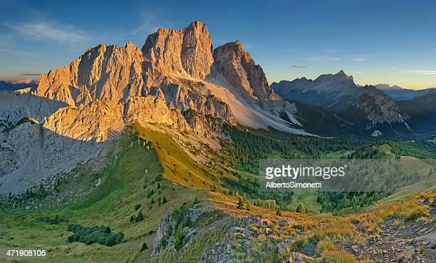 Tramonto sul Pelmo (Dolomiti)
