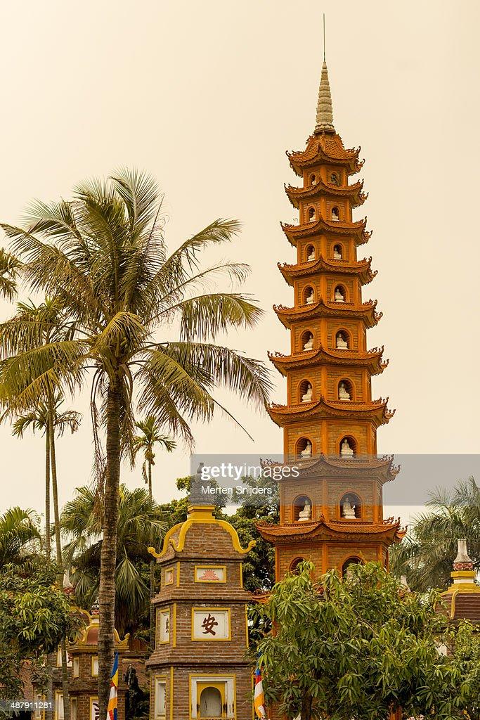 Tran Quoc Temple along Thanh Niên