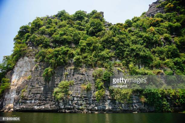 Trang An Tam Coc Ninh Binh Vietnam. It's is object of World Heritage Site renowned for its boat cave tours by the river.05/20