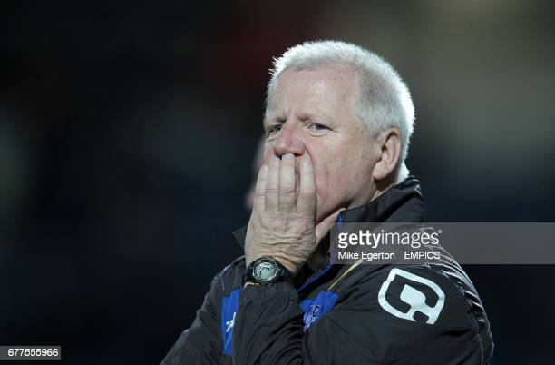 Tranmere Rovers' manager Les Parry
