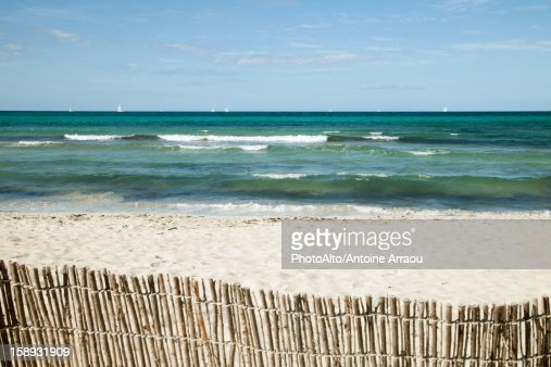 Tranquil beach scene : Stock Photo