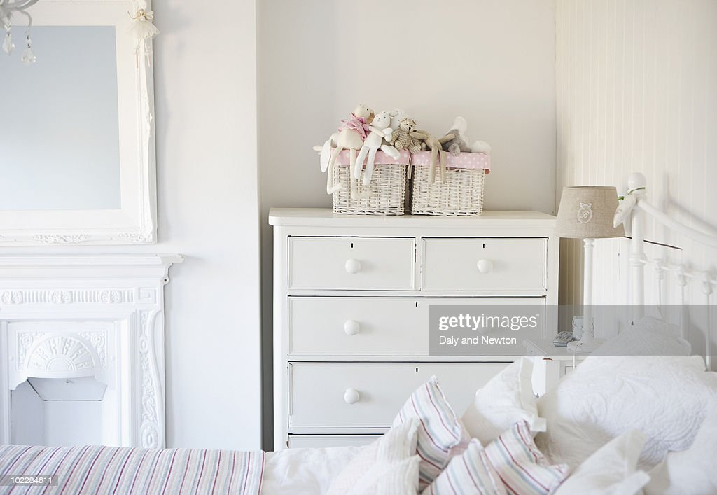 Tranquil bedroom : Stock Photo
