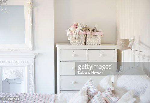 Tranquil bedroom : Stock Photo