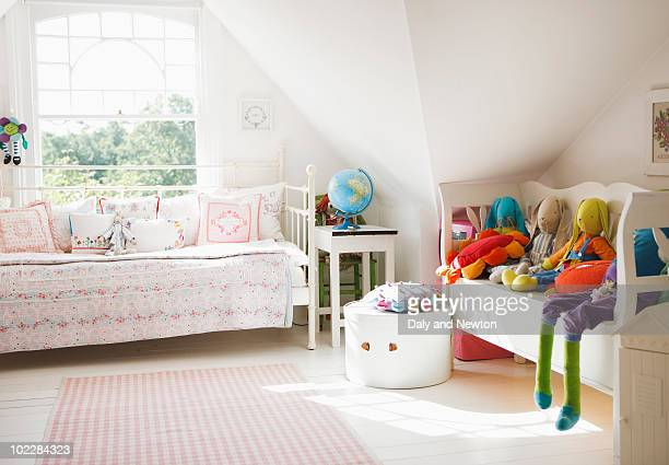 Tranquil childs bedroom