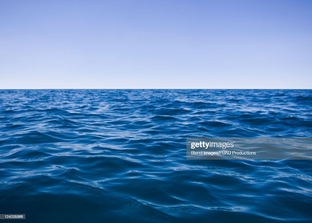 Tranquil ocean water : Stock Photo
