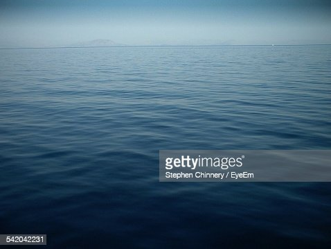 Tranquil View Of Seascape