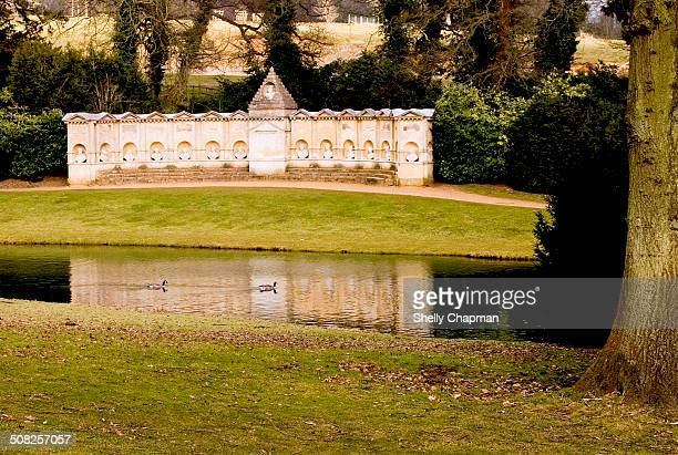Tranquility At Stowe Landscape Gardens England