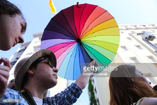 Trans Pride Istanbul 2015 : Stock Photo