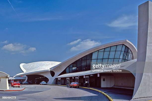 Trans World Airlines Terminal John F Kennedy Airport New York 195662 Interior Designed by the architect Eero Saarinen 19101961
