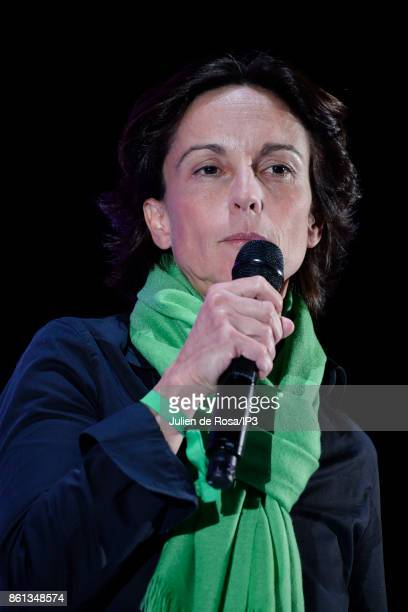 Transavia France CEO Nathalie Stubler attends the third edition of Bpifrance INNO generation at AccorHotels Arena on October 12 2017 in Paris France...