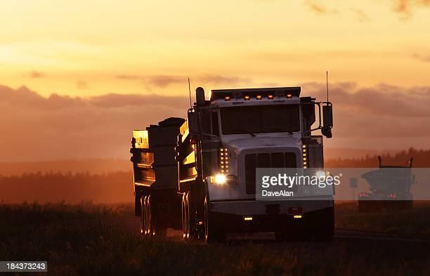 Transfer Dump Truck.