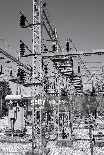 Transformer Substation : Stock Photo