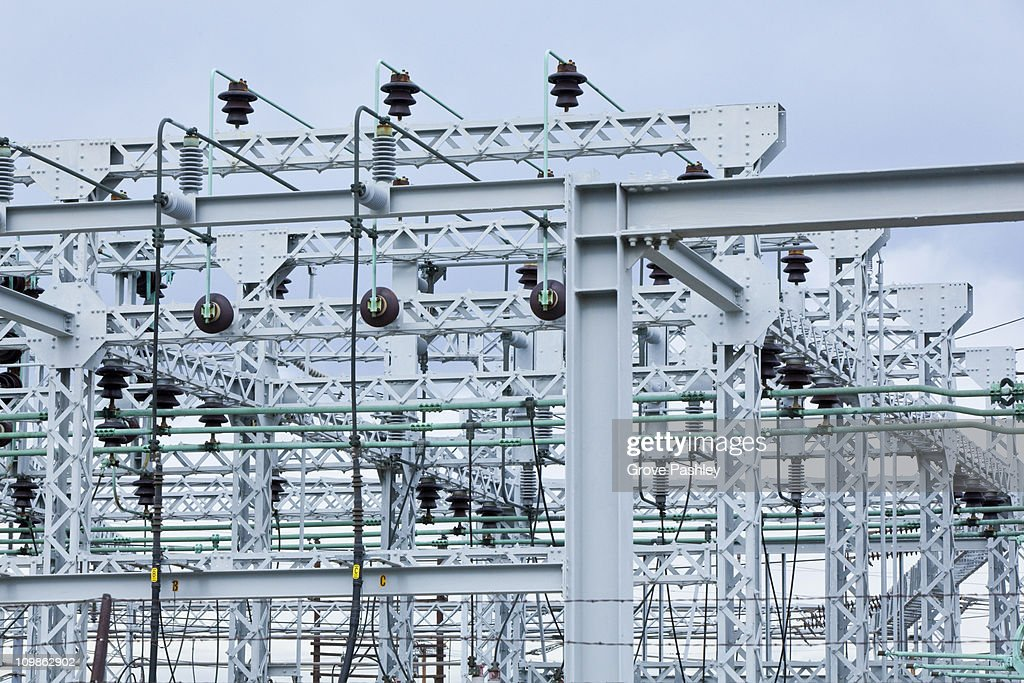 Transformers at an Electrical Substation