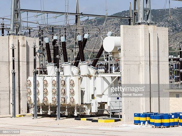 Transformers in power station