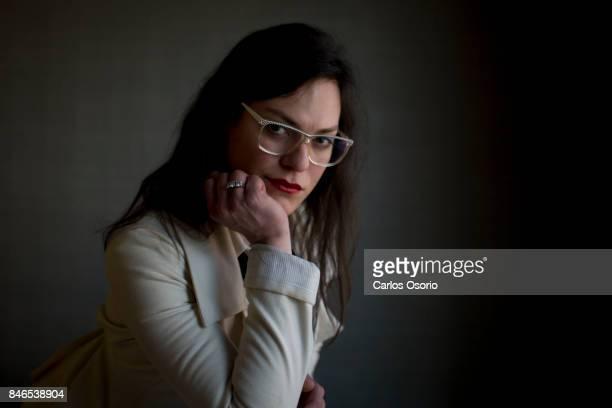 TORONTO ON SEPTEMBER 13 Transgender actress Daniela Vega talks about Spanish film A Fantastic Woman during the Toronto International Film Festival...